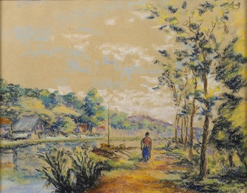 Paysage, 1910 by Armand Guillaumin (French, 1841 - 1927)