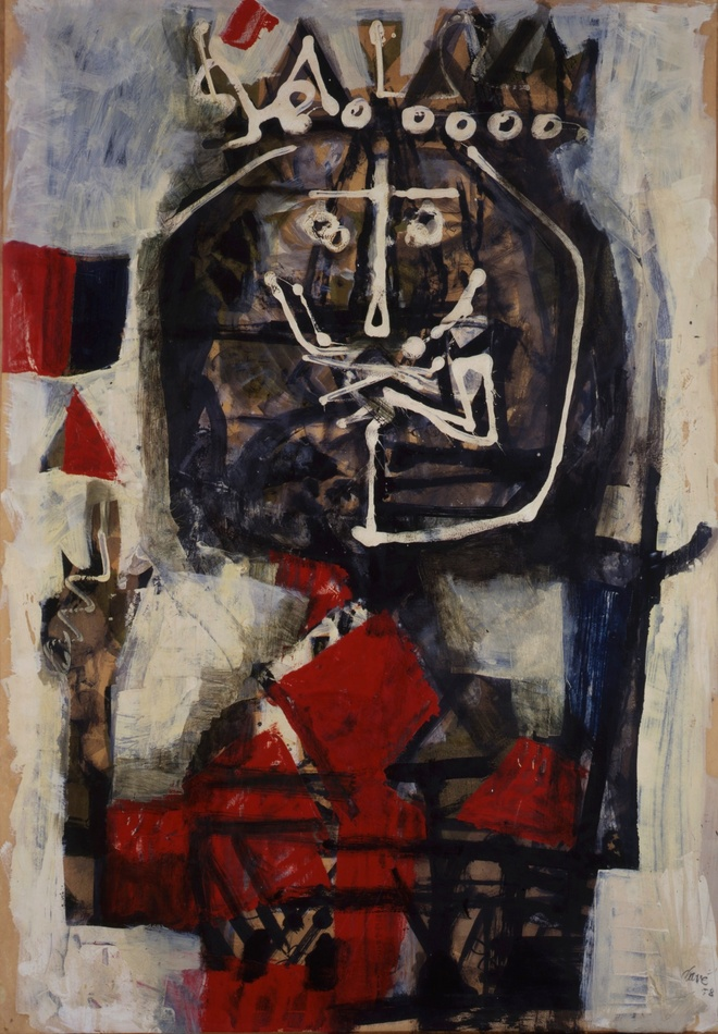 King, 1958 by Antoni Clavé (Spanish, 1913 - 2005)