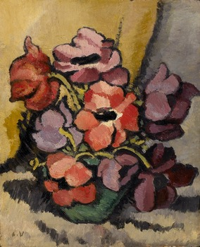 Vase d'Anemones by Louis Valtat (French, 1869 - 1952)