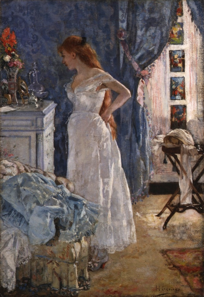 La Toilette, 1878 by Henri Gervex (French, 1852 - 1929)