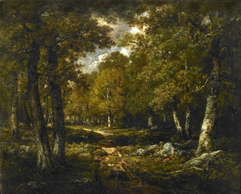 Clearing in the Woods by Narcisse Virgile Diaz de la Pena (French, 1807 - 1876)