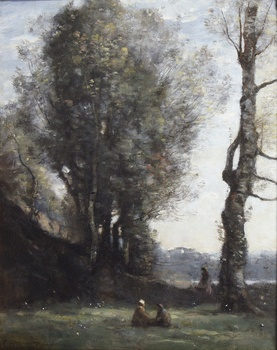 Le Vieil Arbre, 1865 by Jean-Baptiste-Camille Corot (French, 1796 - 1875)