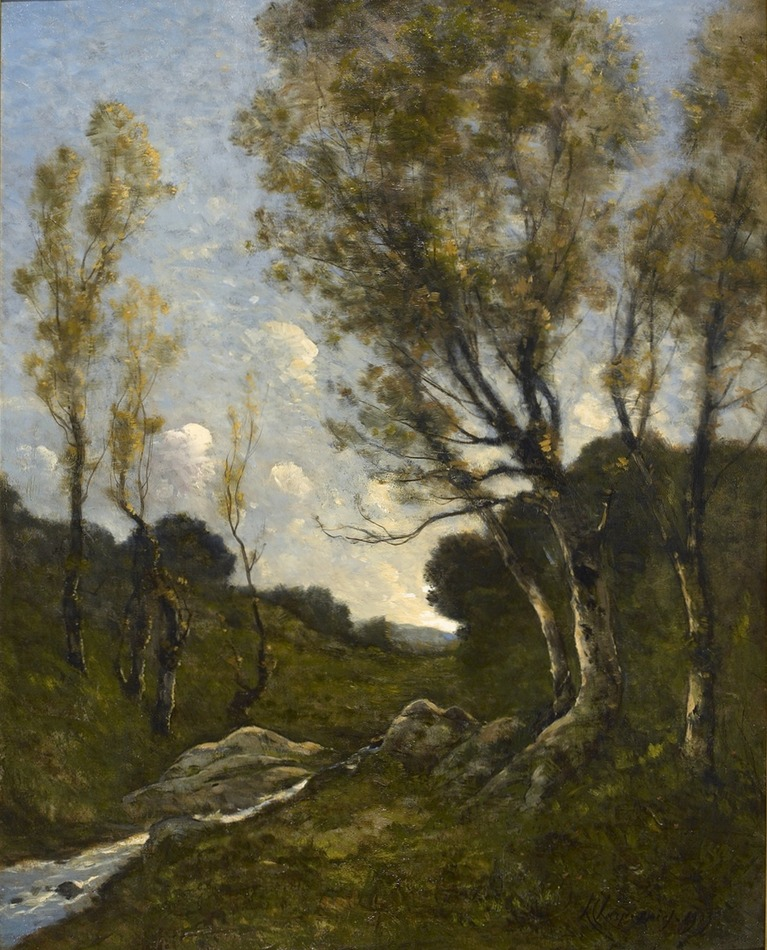 Paysage, 1903 by Henri-Joseph Harpignies (French, 1819 - 1916)