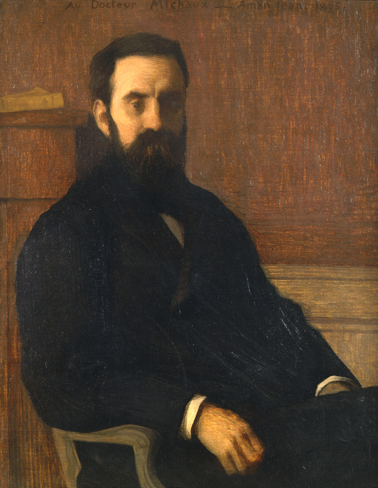 Au Docteur Michaux, 1895 by Edmond François Aman-Jean (French, 1860 - 1935)