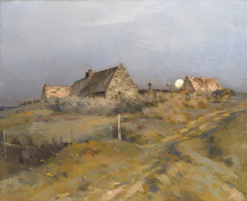 Moonrise by Jean-Charles Cazin (French, 1841 - 1901)