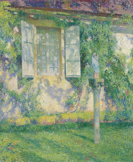 Outside the Window, Marquarol, c.1915 by Henri Martin (French, 1860 - 1943)