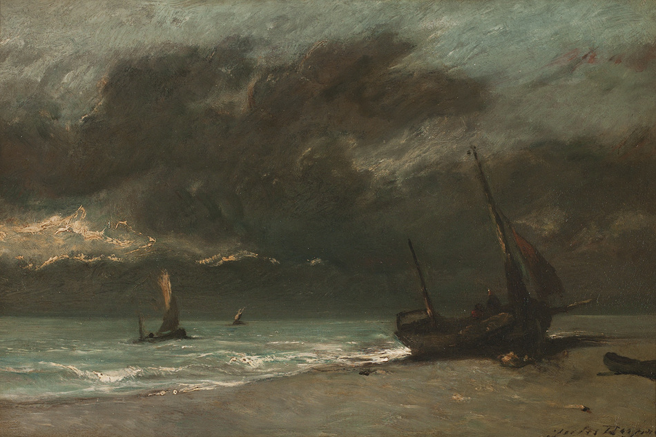 Bord de Mer by Jules Dupré (French, 1811 - 1869)