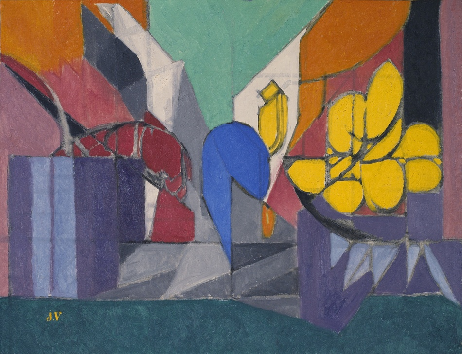 Nature Morte aux Fleurs Jaunes, 1956 by Jacques Villon (French, 1875 - 1963)