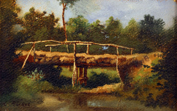 Le Pont by Léon Richet (French, 1847 - 1907)